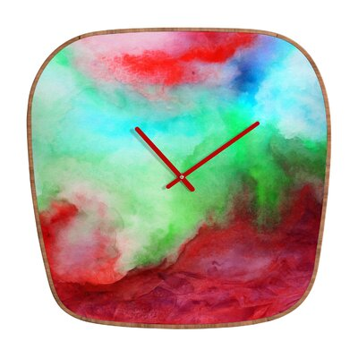 DENY Designs Jacqueline Maldonado The Red Sea Wall Clock