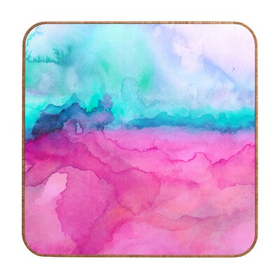 DENY Designs Tidal by Jacqueline Maldonado Framed Painting Print Plaque