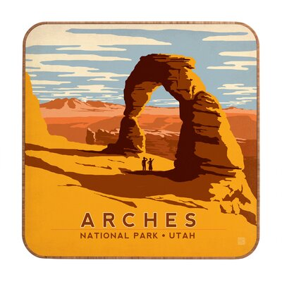 DENY Designs Anderson Design Group Arches Wall Art
