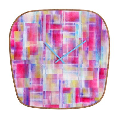 DENY Designs Jacqueline Maldonado Space Between Wall Clock