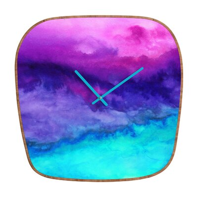 DENY Designs Jacqueline Maldonado The Sound Wall Clock