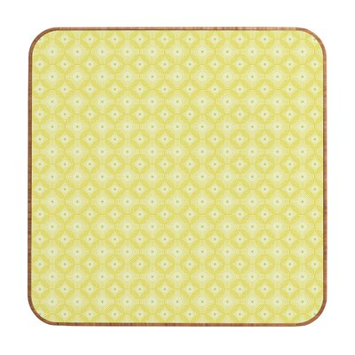 DENY Designs Caroline Okun Yellow Spirals Wall Art