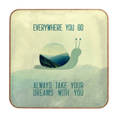 DENY Designs Always Take Your Dreams with You by Belle13 Framed Textual Art Plaque