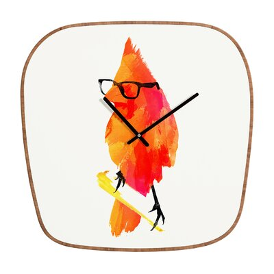 DENY Designs Robert Farkas Punk Bird Wall Clock