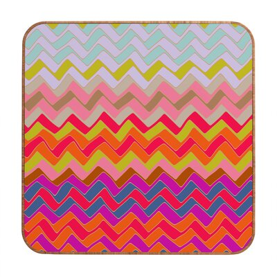 DENY Designs Geo Chevron by Sharon Turner Framed Graphic Art Plaque