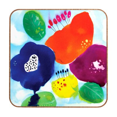 CayenaBlanca Big Flowers Wall Art