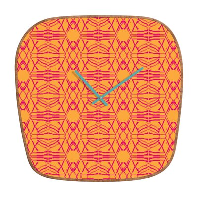 DENY Designs Pattern State Shotgirl Tang Wall Clock