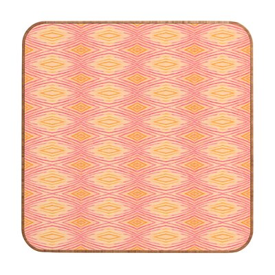 DENY Designs Cori Dantini Orange Ikat 4 Wall Art