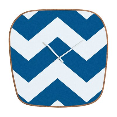 DENY Designs Holli zollinger Chevron Clock