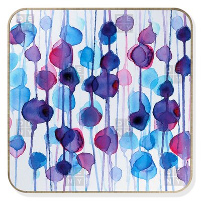 DENY Designs CMYKaren Abstract Watercolor Jewelry Box