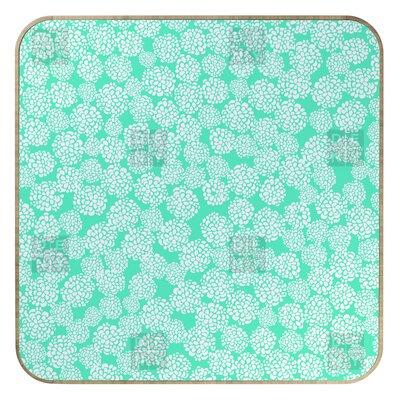 DENY Designs Joy Laforme Dahlias Seafoam Jewelry Box Replacement Cover