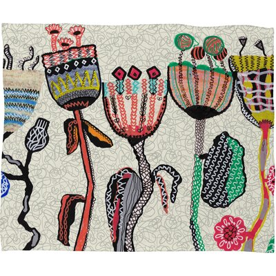 DENY Designs Mikaela Rydin Parads Polyesterrr Fleece Throw Blanket