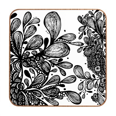 DENY Designs Julia Da Rocha Wild Leaves Wall Art