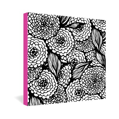DENY Designs Julia Da Rocha Bouquet of Flowers Love Gallery Wrapped Canvas