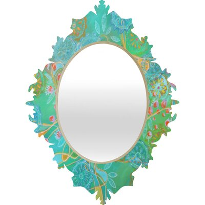 DENY Designs Stephanie Corfee Secret Garden Baroque Mirror
