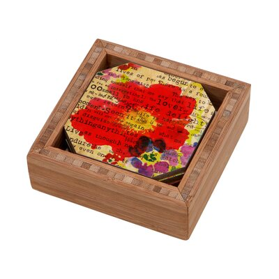 DENY Designs Irena Orlov Poppy Poetry 2 Coaster