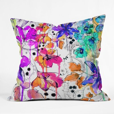 DENY Designs Holly Sharpe Lost in Botanica 1 Throw Pillow