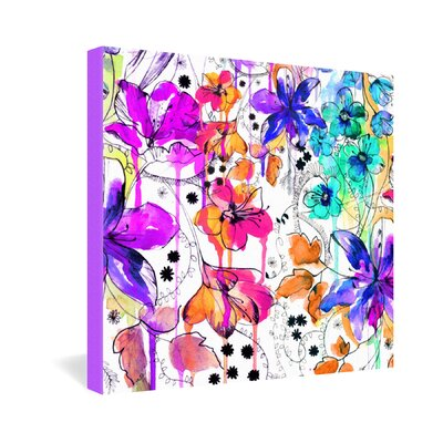 DENY Designs Lost in Botanica 1 by Holly Sharpe Graphic Art on Canvas