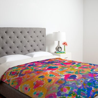 DENY Designs Amy Sia Watercolour Ikat 3 Duvet Cover Colletion