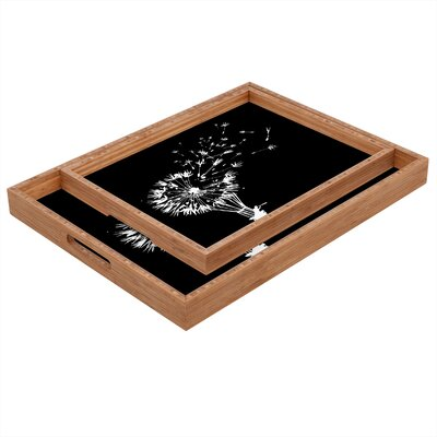 DENY Designs Budi Kwan Going Where The Wind Blows Rectangular Tray