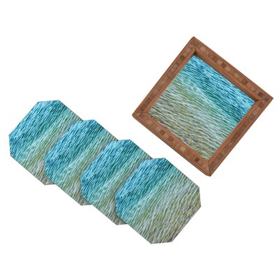 DENY Designs Shannon Clark Ombre Sea Coaster (Set of 4)