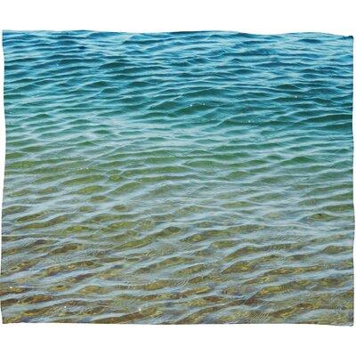 DENY Designs Shannon Clark Ombre Sea Polyesterr Fleece Throw Blanket