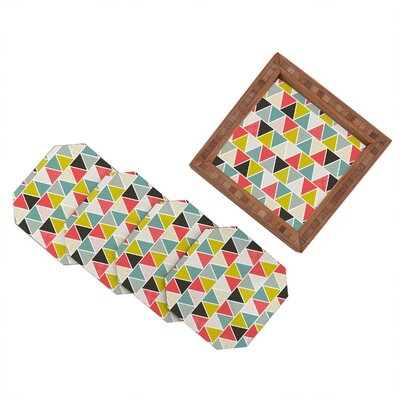 DENY Designs Heather Dutton Triangulum Coaster (Set of 4)