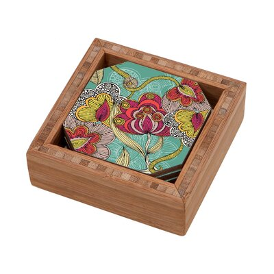 DENY Designs Valentina Ramos Beatriz Coaster (Set of 4)