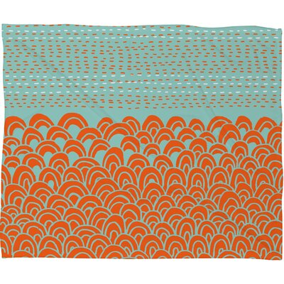 DENY Designs Budi Kwan The Infinite Tidal Polyesterrr Fleece Throw Blanket
