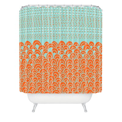 DENY Designs Budi Kwan The Infinite Tidal Polyesterrr Shower Curtain