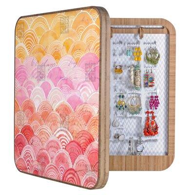 DENY Designs Cori Dantini Warm Spectrum Rainbow Blingbox Replacement Cover Accessory Box