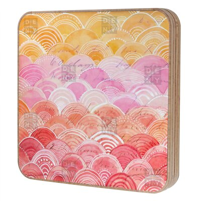 DENY Designs Cori Dantini Warm Spectrum Rainbow Blingbox Replacement Cover Accessory Box