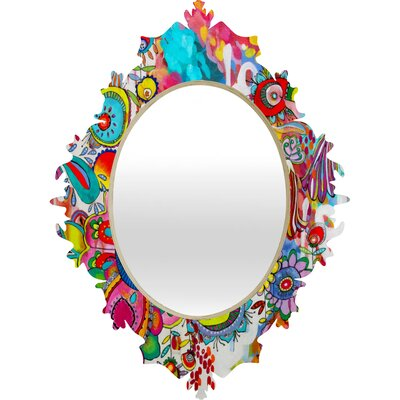 Deny designs stephanie corfee miss penelope baroque mirror for Baroque mirror canada
