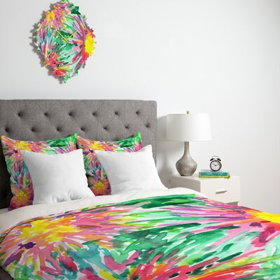 DENY Designs Joy Laforme Floral Confetti Duvet Cover Collection