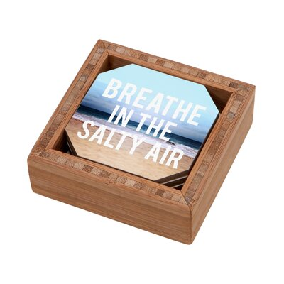 DENY Designs Leah Flores Breathe Coaster