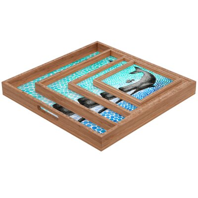 DENY Designs Garima Dhawan New Friends 3 Square Tray
