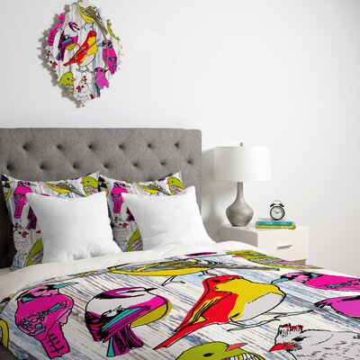 DENY Designs Mary Beth Freet Couture Home Birds Duvet Cover Collection