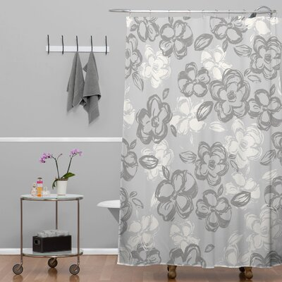 DENY Designs Khristian A Howell Woven Polyester Russian Ballet Soho Shower Curtain