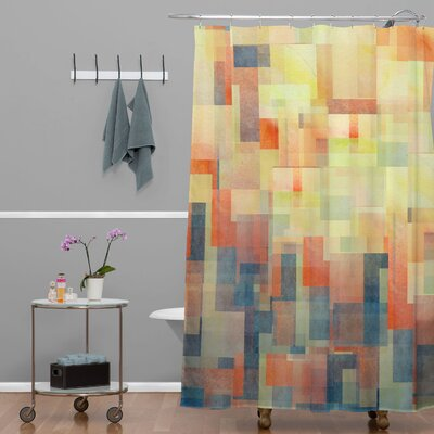 DENY Designs Jacqueline Maldonado Woven Polyester Cubism Dream Shower Curtain