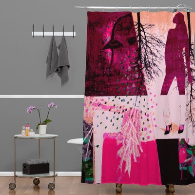 DENY Designs Randi Antonsen Polyester City 3 Shower Curtain