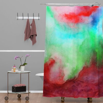 DENY Designs Jacqueline Maldonado Woven Polyester Shower Curtain
