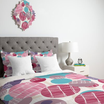 DENY Designs Rachael Taylor Textured Geo Duvet Cover Collection