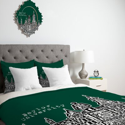 DENY Designs Bird Ave University Duvet Cover