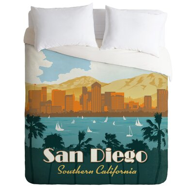 DENY Designs Anderson Design Group San Diego Duvet Cover Collection