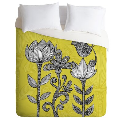 DENY Designs Valentina Ramos Green Garden Duvet Cover Collection