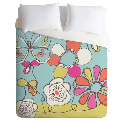 DENY Designs Rachael Taylor Fun Floral Duvet Cover Collection