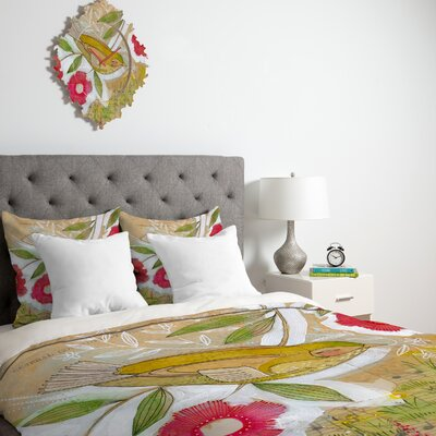 DENY Designs Cori Dantini Sweet Meadow Bird Duvet Cover Collection