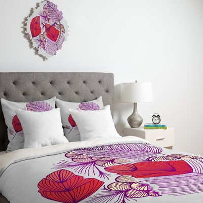 DENY Designs Gabi Sea Leaves Duvet Cover Collection