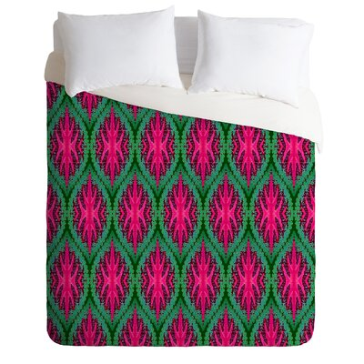 DENY Designs Wagner Campelo Ikat Leaves Duvet Cover Collection
