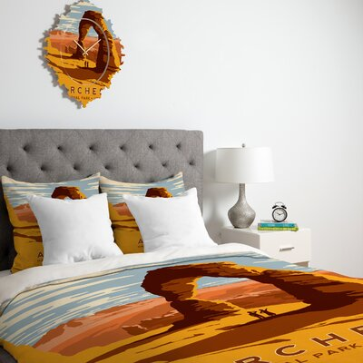 DENY Designs Anderson Design Group Arches Duvet Cover Collection